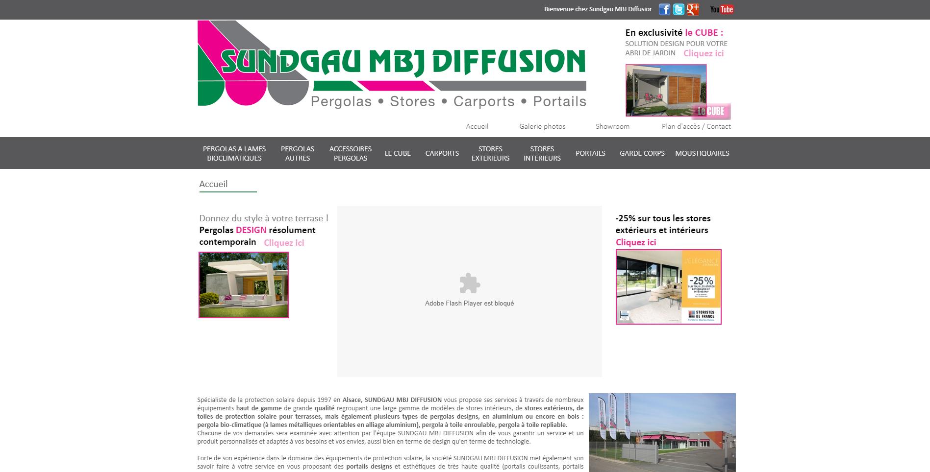 Site MBJ par softup