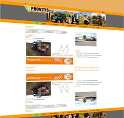 Site Provitis par SOFTUP
