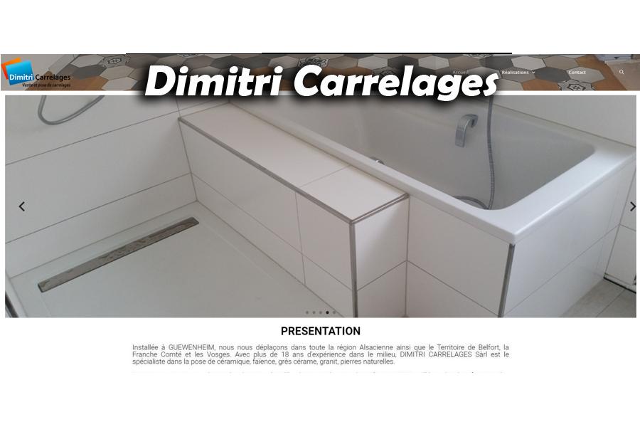 site Dimitri carrelage par softup